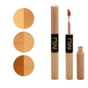 Correttore liquido duo alta coprenza mu make up