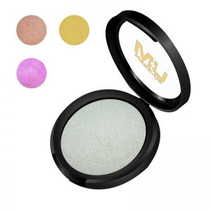 Illuminante cotto in polvere compatta mu make up