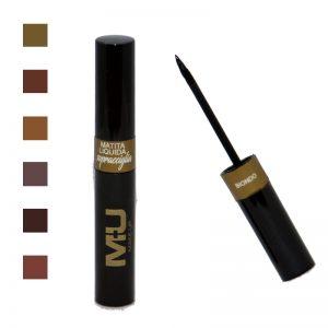 matita per sopracciglia liquida con pennellino