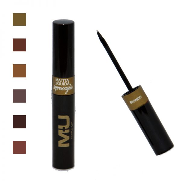 matita liquida per sopracciglie mu make up