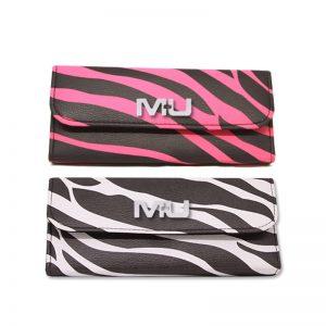 Pochette borsellino zebrato porta trucco