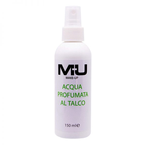 Acqua profumata corpo al talco MU Makeup