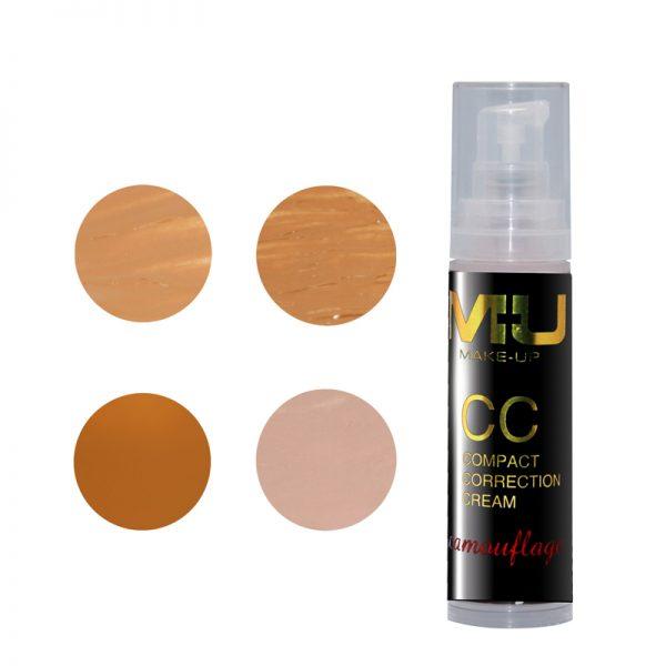 Compact corrector cream mu make up