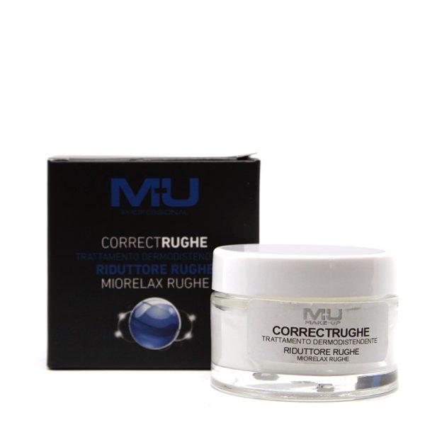 Crema viso riduttore rughe correct rughe MU Makeup