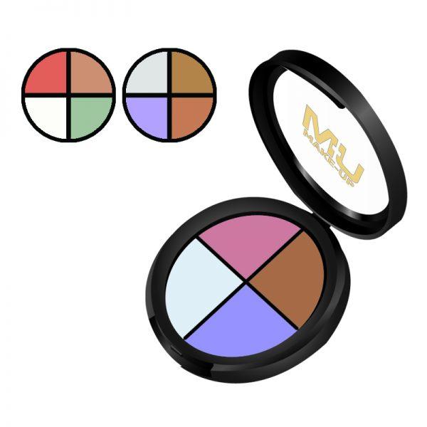 palette correttori per contouring mu make up