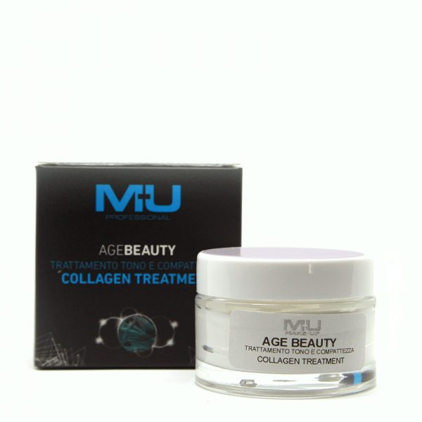 Crema viso Colagen treatment agebeauty MU Makeup