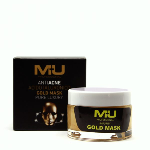 gold mask anti acne mu make up