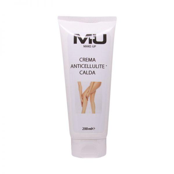Crema gambe anticellulite calda MU Makeup