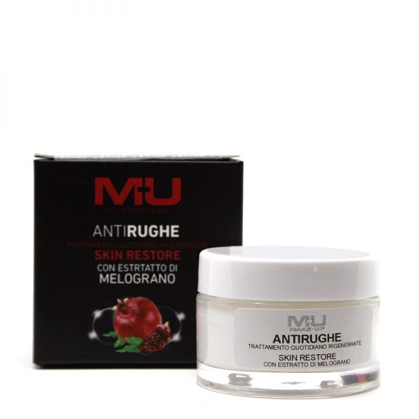 Crema viso anti rughe estratto di melograno MU Makeup