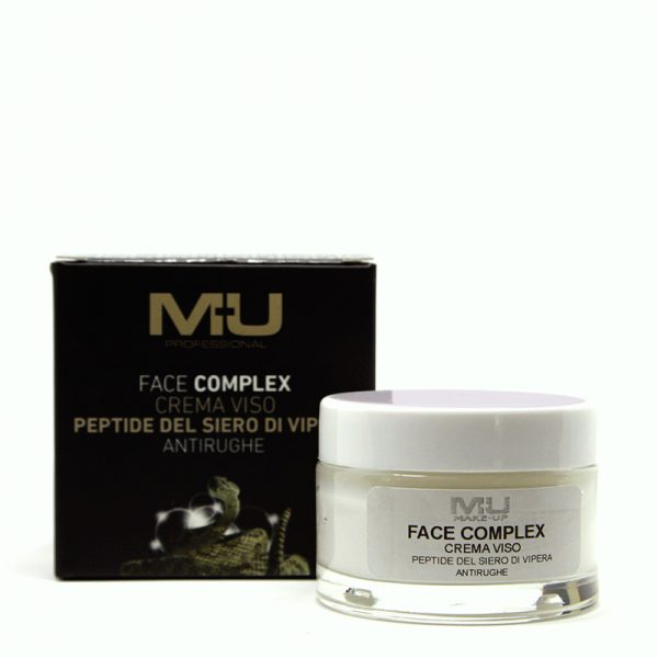 Crema viso peptide del siero di vipera face complex Mu Make Up