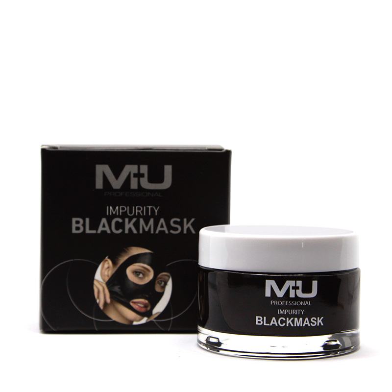 black mask punti neri mu make up