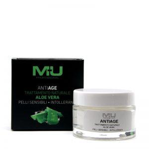 Crema viso aloe vera anti age MU Makeup