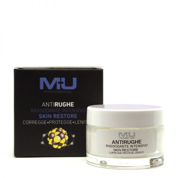 Crema viso anti rughe rassodante intensivo skin restore MU Makeup