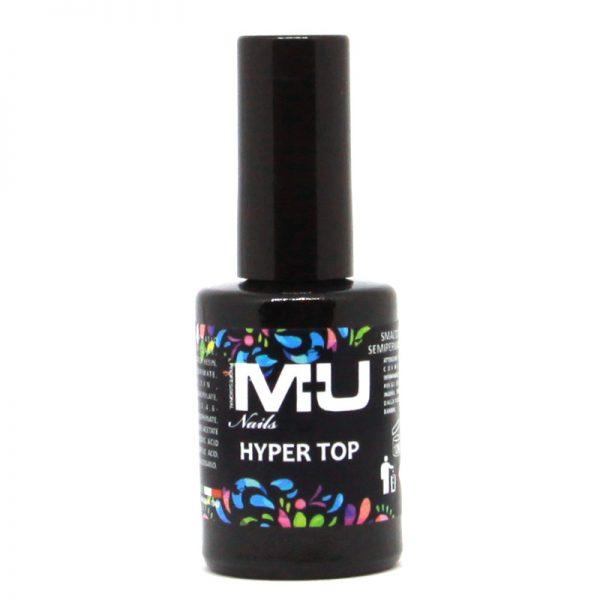 hyper top per unghie professionale 11ml mu make up