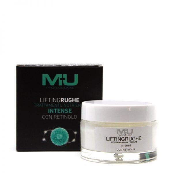 Crema viso intense con retinolo lifting rughe MU Makeup
