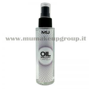 Olio capelli Semi di lino cristalli liquidi