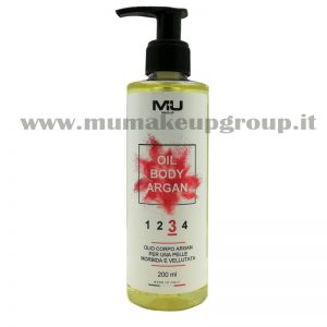 Olio corpo all' argan glitterato