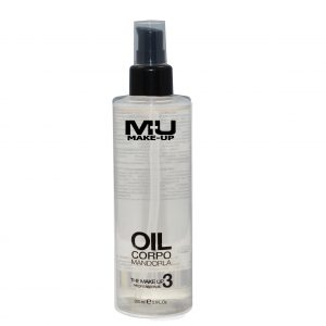 olio corpo mandorla mu make up