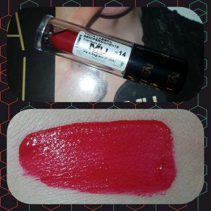 swatch tinta labbra 14