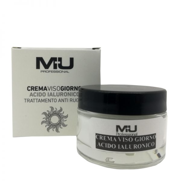 Crema viso giorno acido ialuronico mu make up