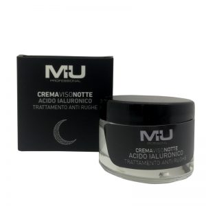 Crema viso notte all' acido ialuronico