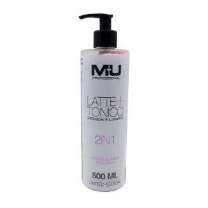 Latte + Tonico viso ed occhi rosa