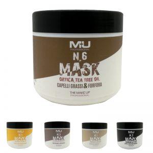 Maschera per capelli professionale Mu Make Up