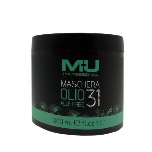 Maschera per capelli olio 31 alle erbe