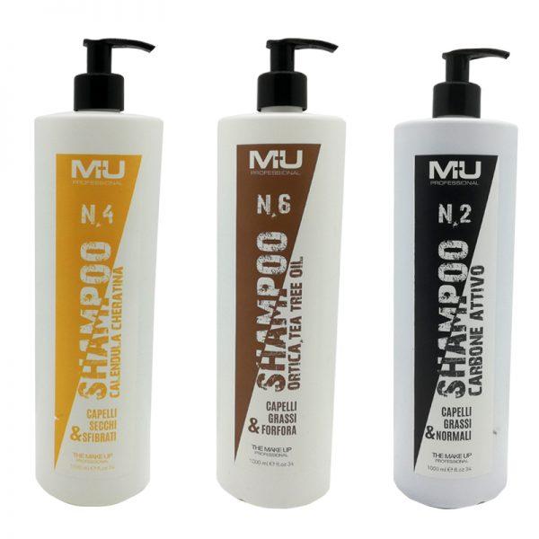 Shampoo professionale Mu Make Up