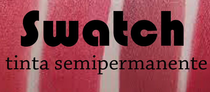 Swatch tinta labbra semipermanente