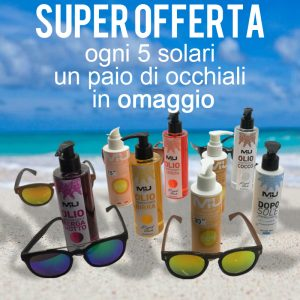 Offerta Solari + Occhiali Mu Make Up