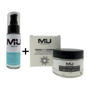 kit gel + crema viso acido ialuronico
