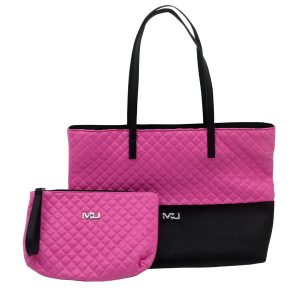 Borsa + borsello trapuntati Mu make Up
