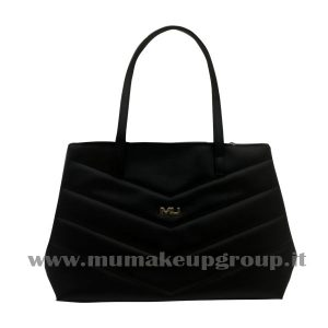 Borsa in ecopelle a V Mu Mak Up