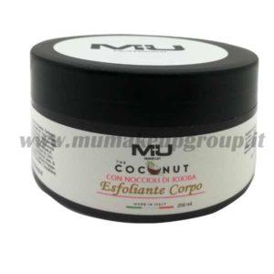 Esfoliante corpo coconut mu make up