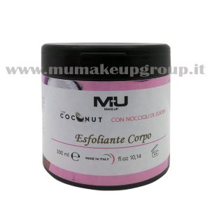 Esfoliante corpo coconut mu make up