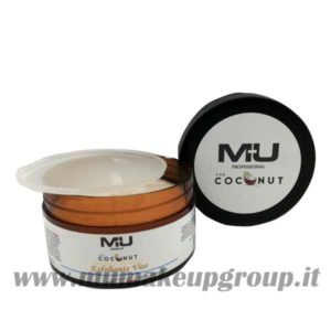 esfoliante viso coconut mu make up