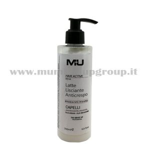 Latte lisciante anticrespo mu make up