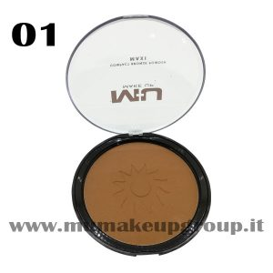 Compact Bronze Powder Maxi Mu Make UP