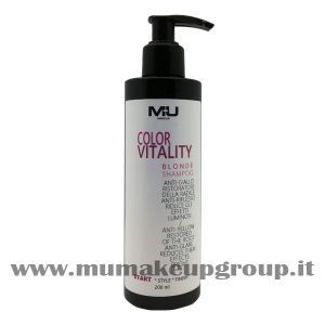 Color Vitality Blonde Shampoo Mu Make Up