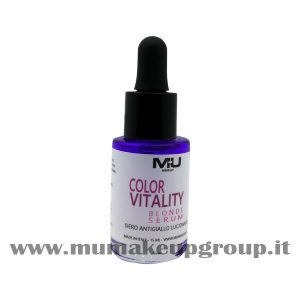 Color Vitality Blonde Sierum siero antigiallo Mu Make Up