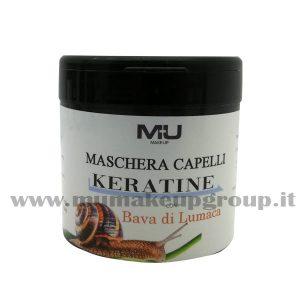 Maschera capelli KERATINE con bava di lumaca Mu Make Up