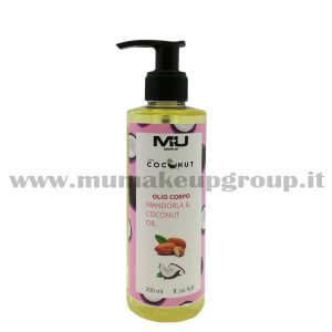 Olio Corpo Coconut Mandorla Mu Make Up