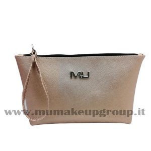 Pochette saffiano con manico Mu Make Up
