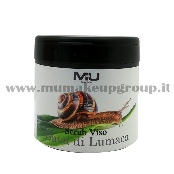 scrub-viso-bava-di-lumaca-barattolo-mu-make-up