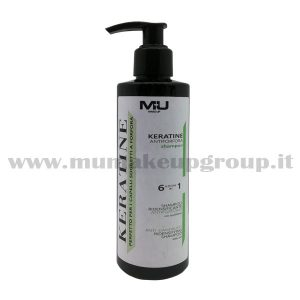 Shampoo Keratine Antiforfora Mu Make Up
