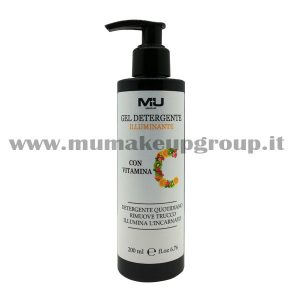 Gel detergente illuminante con vitamina C