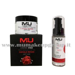kit viso crema + siero caviale rosso