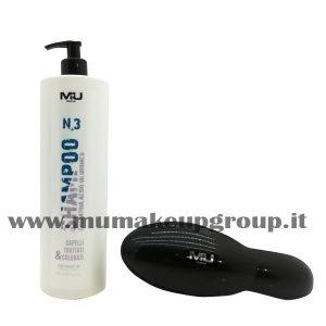kit shampoo + spazzola districante