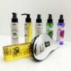 kit olio capelli + spazzola districante